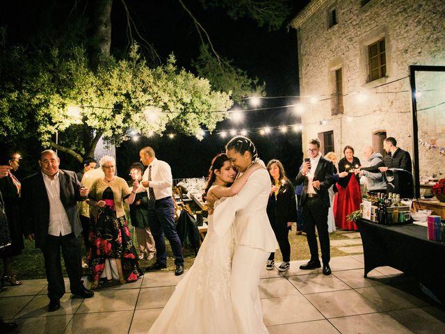 La boda de Ana y Noemí en El Pont De Vilumara I Rocafort, Barcelona 80