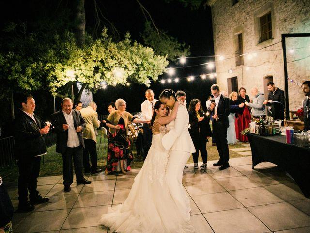 La boda de Ana y Noemí en El Pont De Vilumara I Rocafort, Barcelona 85