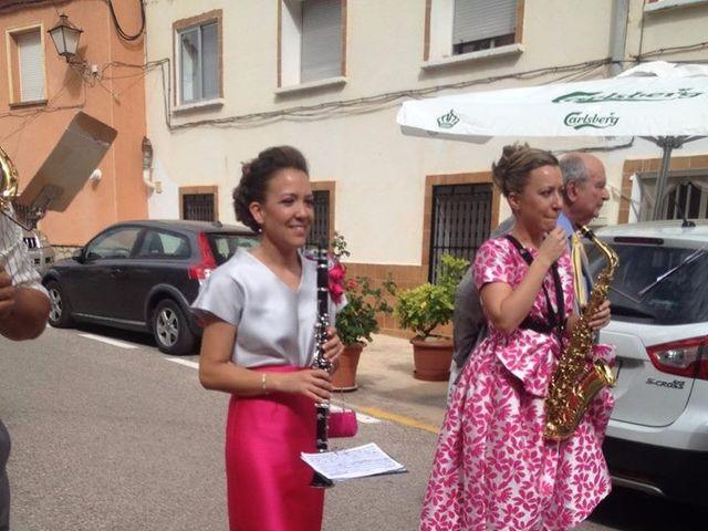 La boda de Andrés y Alejandra en Bogarra, Albacete 5