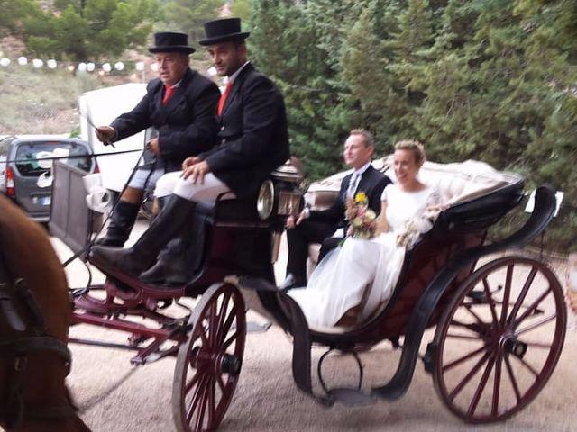 La boda de Andrés y Alejandra en Bogarra, Albacete 1