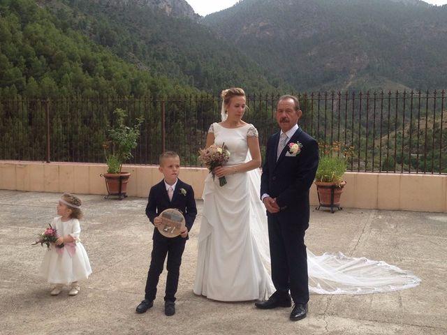 La boda de Andrés y Alejandra en Bogarra, Albacete 3