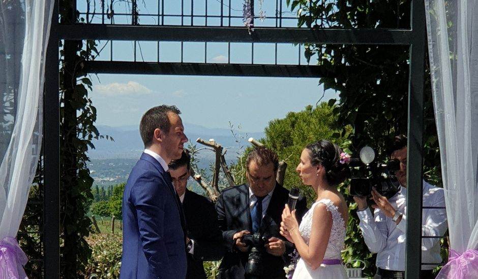 La boda de Julio y Maria en Alalpardo, Madrid