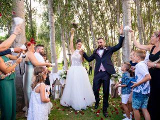 La boda de Roger y Verònica