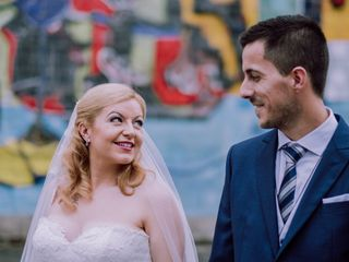 La boda de EIder  y Mikel