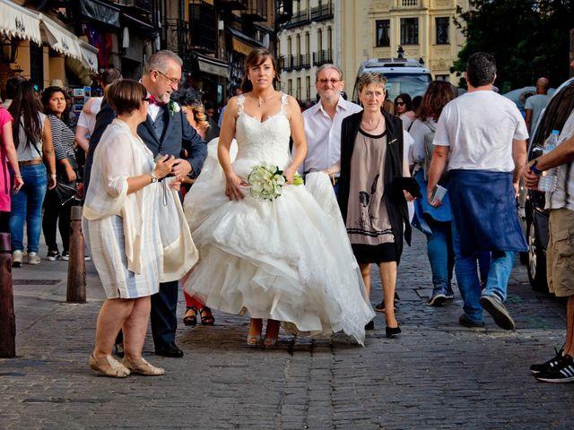 La boda de Carlos y Isabel en Segovia, Segovia 1