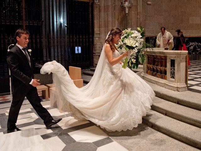 La boda de Carlos y Isabel en Segovia, Segovia 14
