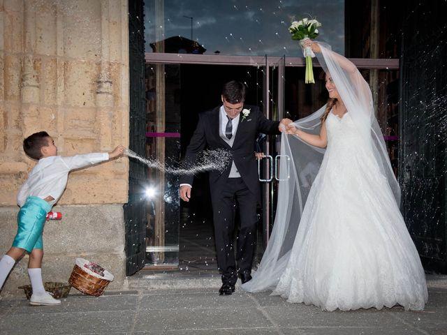 La boda de Carlos y Isabel en Segovia, Segovia 17