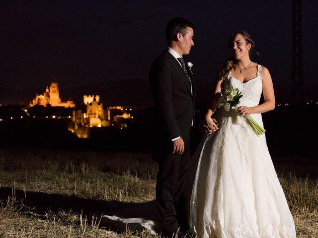 La boda de Carlos y Isabel en Segovia, Segovia 25