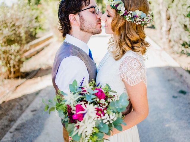 La boda de Laurence y Julio
