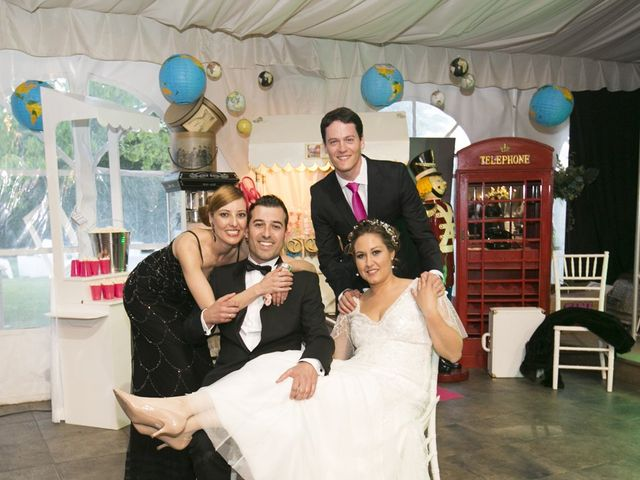 La boda de David y Virginia en San Andres De Montejos, León 34
