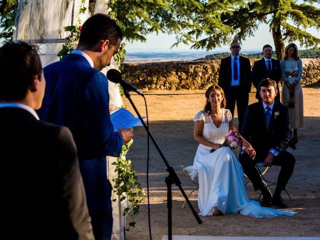 La boda de Sergio y Laura en Torrelodones, Madrid 42