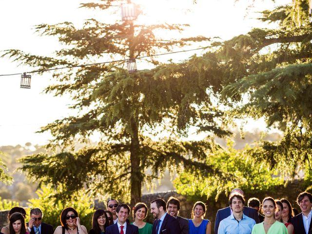 La boda de Sergio y Laura en Torrelodones, Madrid 52
