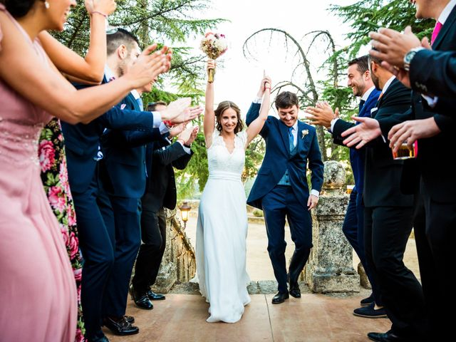 La boda de Sergio y Laura en Torrelodones, Madrid 77