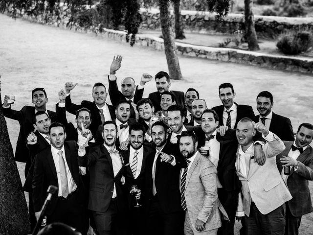 La boda de Sergio y Laura en Torrelodones, Madrid 86