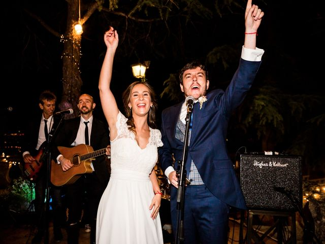 La boda de Sergio y Laura en Torrelodones, Madrid 95