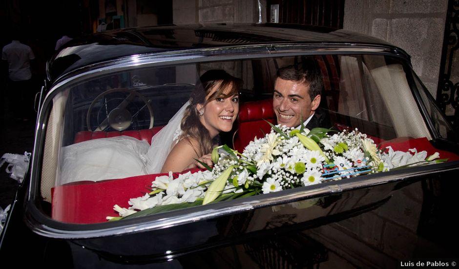 La boda de Carlos y Isabel en Segovia, Segovia