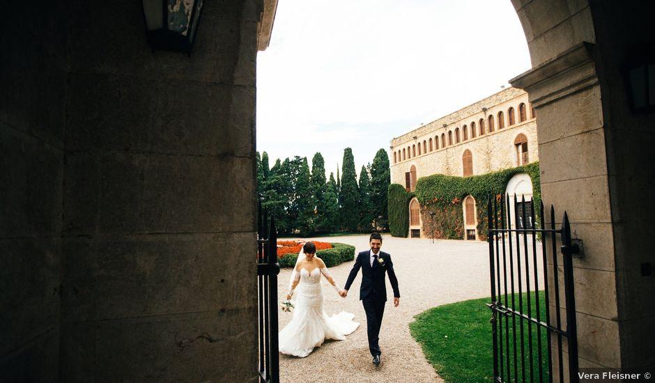 La boda de Miquel y Monica en Peralada, Girona