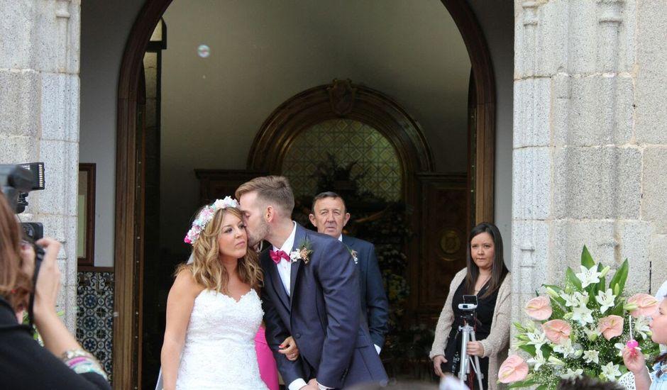 La boda de Abraham  y Sara en Galapagar, Madrid