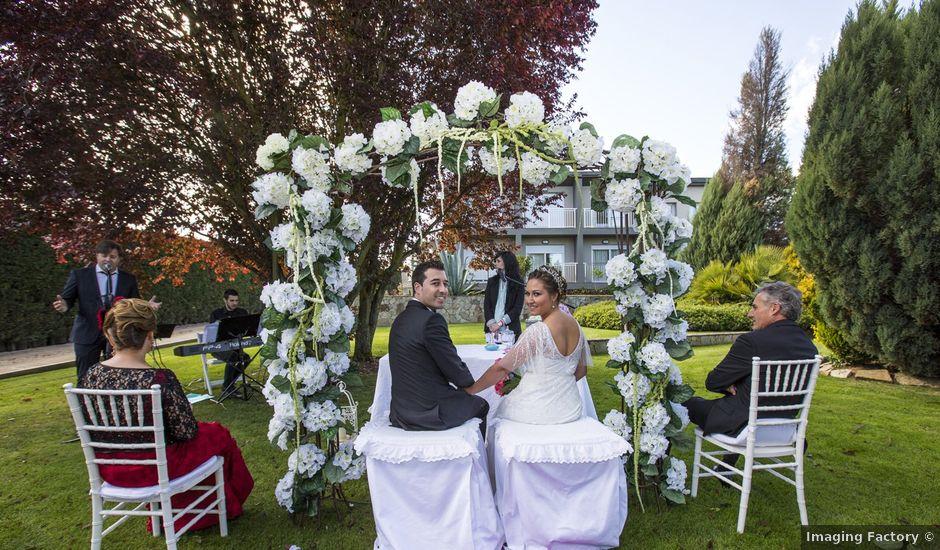 La boda de David y Virginia en San Andres De Montejos, León