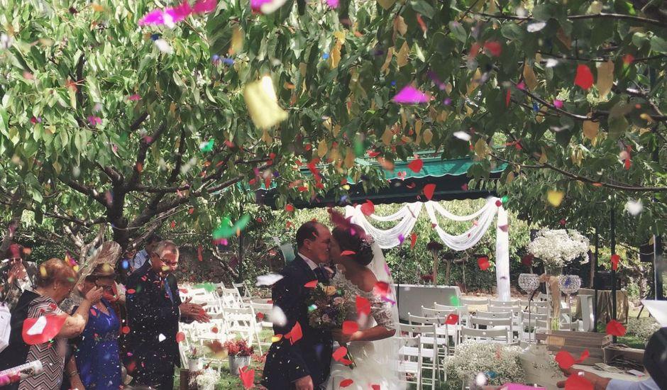 La boda de Javier y Amparo en Jerte, Cáceres