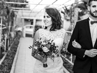 La boda de Estefanía  y Norman