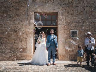 La boda de Agathe y Adrien