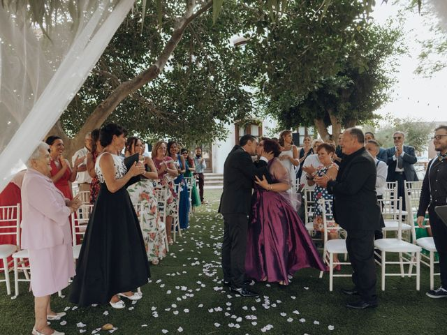La boda de Gustavo y Beatriz en Daya Vieja, Alicante 45