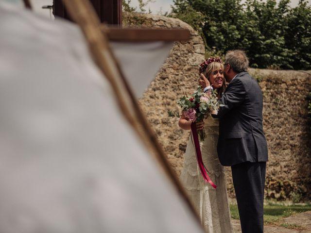 La boda de Iñaki y Saray en Quijas, Cantabria 22