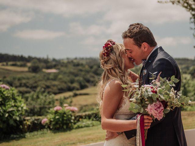 La boda de Iñaki y Saray en Quijas, Cantabria 33