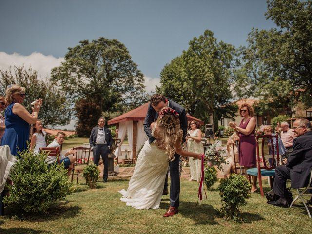 La boda de Iñaki y Saray en Quijas, Cantabria 34