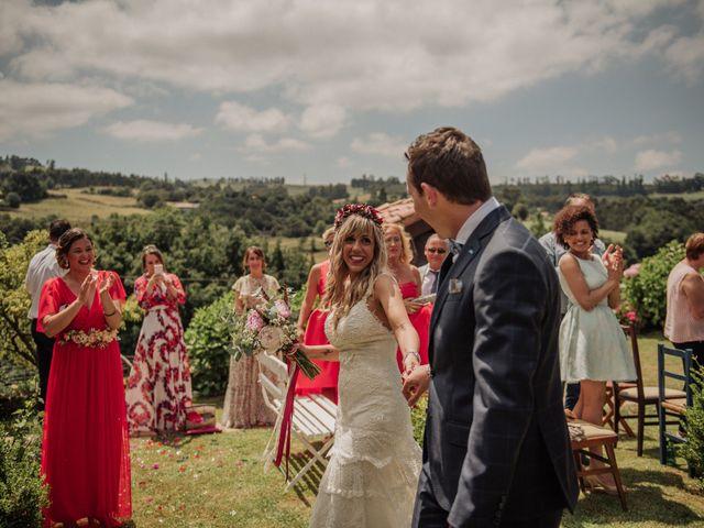 La boda de Iñaki y Saray en Quijas, Cantabria 35