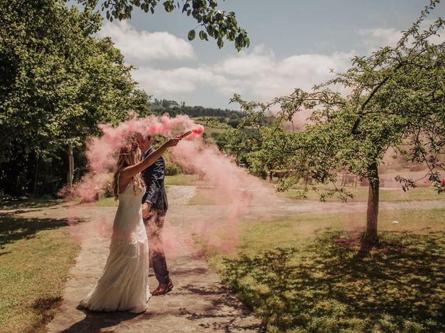 La boda de Iñaki y Saray en Quijas, Cantabria 40
