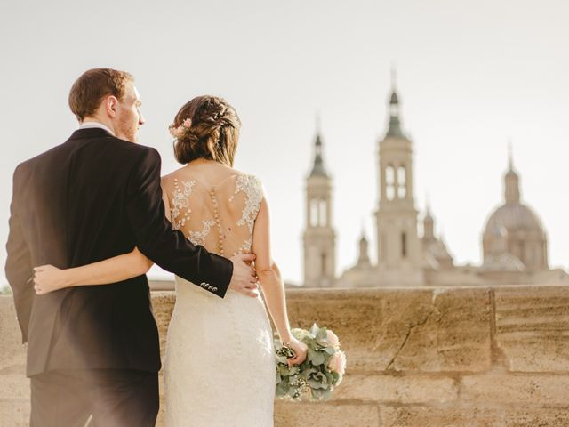 La boda de Adrián y Sonia en El Burgo De Ebro, Zaragoza 67