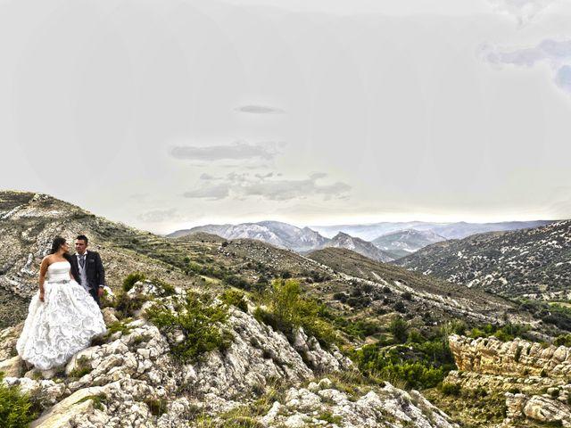 La boda de Rubén y Mary en Monreal Del Campo, Teruel 20