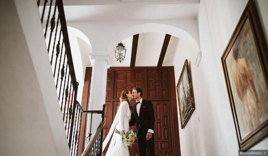 La boda de Maxime y Rebecca en Carmona, Sevilla