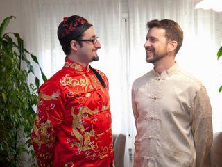 La boda de Wan Li y Pedro 1