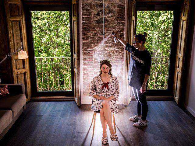 La boda de Pablo y Nora en El Escorial, Madrid 7