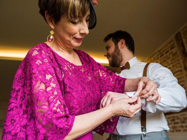 La boda de Pablo y Nora en El Escorial, Madrid 9