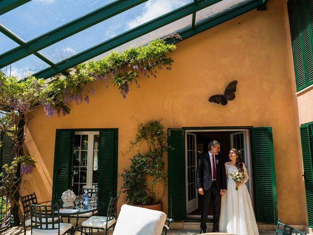 La boda de Pablo y Nora en El Escorial, Madrid 15