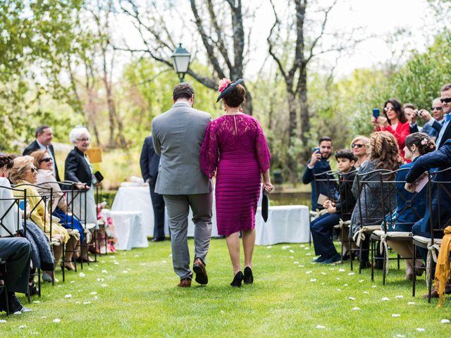 La boda de Pablo y Nora en El Escorial, Madrid 17