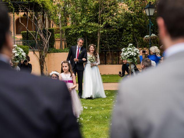 La boda de Pablo y Nora en El Escorial, Madrid 19