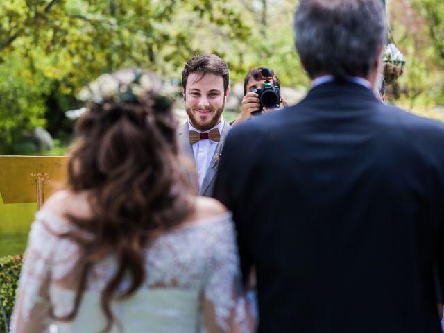 La boda de Pablo y Nora en El Escorial, Madrid 20
