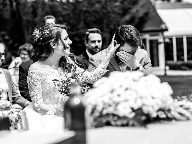 La boda de Pablo y Nora en El Escorial, Madrid 21