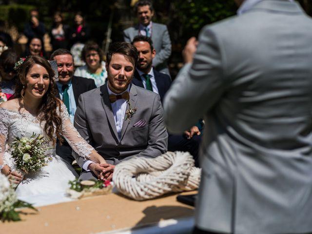 La boda de Pablo y Nora en El Escorial, Madrid 22