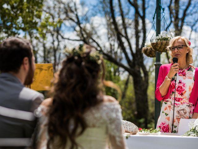 La boda de Pablo y Nora en El Escorial, Madrid 23