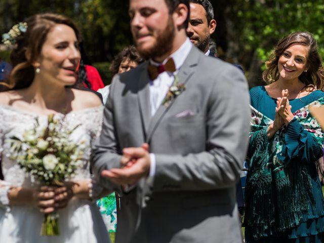 La boda de Pablo y Nora en El Escorial, Madrid 29