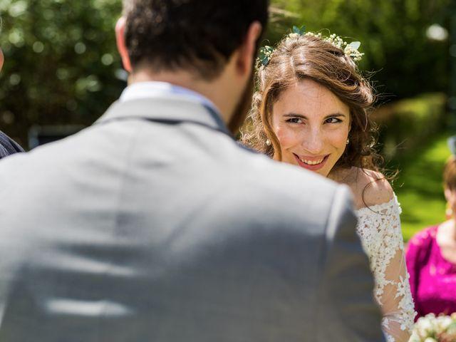 La boda de Pablo y Nora en El Escorial, Madrid 35