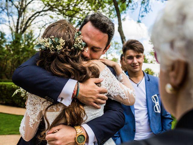 La boda de Pablo y Nora en El Escorial, Madrid 45