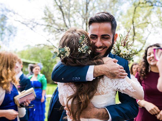 La boda de Pablo y Nora en El Escorial, Madrid 47