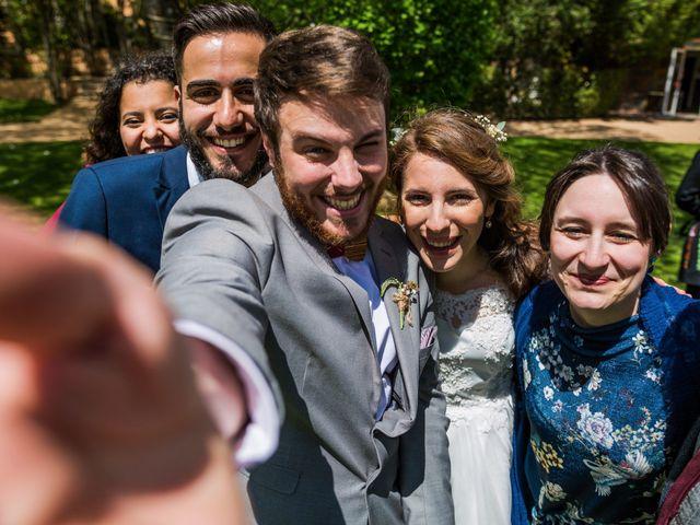 La boda de Pablo y Nora en El Escorial, Madrid 51